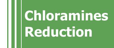 Redução de Cloraminas